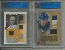 Eddie Shore ITG Ultimate Vault 1/1 on UM9 Complete Package. Ruby Logo
