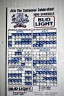 1990 LOS ANGELES DODGERS MLB BASEBALL SCHEDULE MAGNET BUD LIGHT BEER