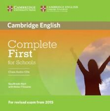 Complete First for Schools Class Audio CDs 9781107695337