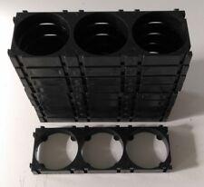 32650 32700 1x3 - 10Pc DIY Battery Cell Holder Bracket Plastic Spacer Clip