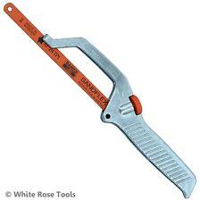 """Bahco 250mm 10"""" Mini Hacksaw Close Quarter Junior Saw Handle Sandflex Blade"""