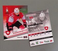 Taiga Sven Andrighetto Team Switzerland IIHF World Championship 2021