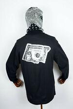 Huf Worldwide Skateboard Longsleeve Tee T-Shirt L/S Death & Taxes Black in M