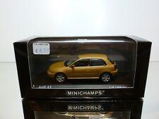 MINICHAMPS  AUDI A3  1.8 3-DOOR - METALLIC 1:43 - EXCELLENT IN DEALER BOX