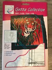 Arty's Gutta Collection 100% Silk Painting Scarf Ties Panels Handkerchief kits