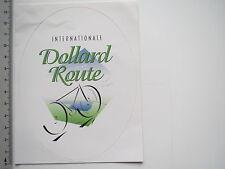 Aufkleber Sticker Internationale Dollard Route - Radweg (6986)