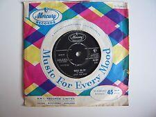 "Leroy Van Dyke Walk On By UK 1961 Mercury 7"" Vinyl Single 45-AMT 1166"