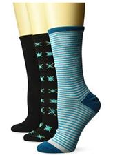 Hanes Women's Comfortfit Lightweight Crew Socks 3-Pack  9-11 (Shoe Size 5-9)
