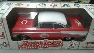 Cincinnati Reds Diecast Ertl Bank 1957 Chevy