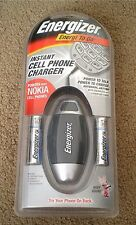 Energizer Instant Cell Phone Charger for Nokia Cell Phones, UPN-120220, NEW