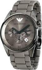 IMPORTED EMPORIO ARMANI AR5950 GRAY CHRONOGRAPH MENS WATCH GIFT 2YR WARRANTY