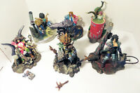 Lot of 6 Heavy Metal Fakk 2 4 inch Complete Series 1 Action Figures Set Loose