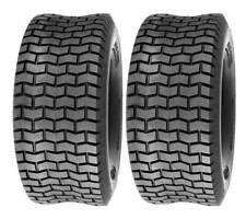 (2) Two 15x6.00-6 Lawn Tractor Turf Tubeless Tires 15x6-6NHS
