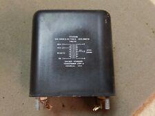 Vintage Chicago Standard Plate Transformer 870 Vct @ 250 mA, Pwv 715, Tested