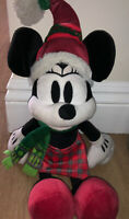 New Disney Parks Christmas Minnie Mouse Plush