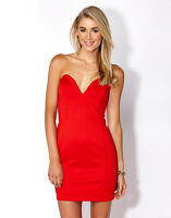 Supre Womens/Ladies Size M/12 Formal/Cocktail/After Party Dress - RED - BNWT