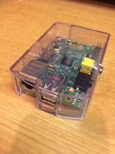 Raspberry Pi Model B In Clear Case