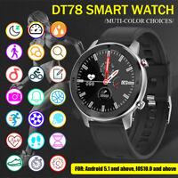 bluetooth Smart Watch  Heart Rate Blood Pressure Monitor Tracker Sport Bracelet