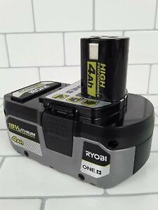 Genuine RYOBI PBP004 18V ONE+ Lithium-Ion 4.0 Ah High Performance Battery