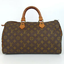 Authentic LOUIS VUITTON M41524 Monogram Speedy 35 Handbag PVC/leather[Used]