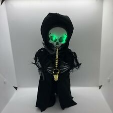 Gemmy Grim Reaper Saxophone Who Can It Be Dancing Singing Animated Halloween New
