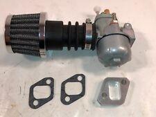Hercules Prima 5 5s 4 4s Sachs 505 Tuning Vergaser Rennnluftfilter 15mm schräg