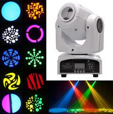 50W RGBW Spot LED Moving Head Stage Light DMX Disco DJ Bar Party Gobos Lighting