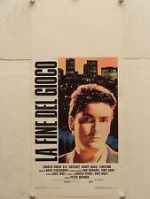 LA FINE DEL GIOCO drammatico regia Peter Werner locandina orig. 1988