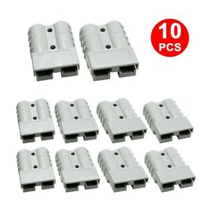 10x FOR ANDERSON PLUG CABLE TERMINAL BATTERY 12-24V POWER CONNECTOR 50AMP 6AWG