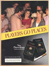 PLAYERS KINGS cigarettes - 1983 Vintage Print Ad