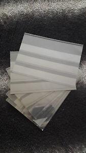13 cartes d' envoi 3 bandes noires ( YVERT et TELLIER )