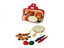 Percussions Musikinstrumente Percussion Set für Kinder in einer praktischen Tasc