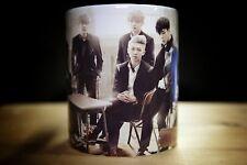 K-Pop BTS White Coffee Mug 11oz. Beautiful Modern Vintage Filter
