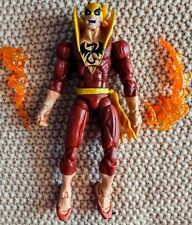 Marvel Legends Iron Fist Red Variant Loose Accs. Complete No Apocalypse BAF