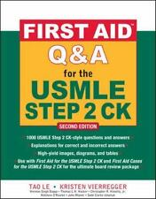 First Aid Q&A for the USMLE Step 2 CK Clinical Knowledge 2nd Edition 2E - PDF