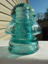 New ListingNice Cd 190/191 A.T. & T. Co. Two Piece Transposition Glass Insulator