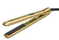 H2D VI GOLD PROFESSIONAL HAIR STRAIGHTENERS RRP £119 WITH FREE HEAT MAT/BAG