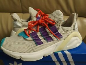 Adidas LXCON Men's Size 7 Athletic Shoes Clear Brown/Purple/Red/Teal EE7403