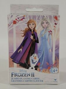 Frozen 2 Movie Jumbo Deck Playing Cards Disney Elsa Anna Olaf 2019 Large Cards