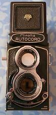 MINOLTA AUTOCORD TLR CAMERA,Minolta Rokkor 75mm f/3.5 lens