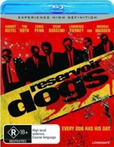 Reservoir Dogs (Blu-Ray) New / Sealed - Steve Buscemi Is Mr Pink