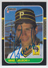Autographed 1987 Donruss Mike Bielecki - Pirates