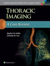 Used Excellent Thoracic Imaging  Stephen Hobbs and Christian Cox (2015, Revised)