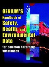 Genuim Handbook of Health, Safety, & Environmental Data