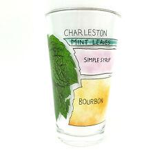 Charleston Drink Cocktail Recipe 12oz Pint Glass