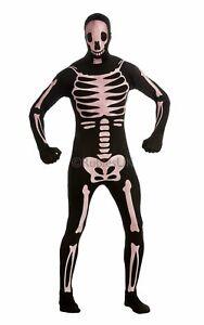 2nd Skin Glow in the Dark Skeleton Fancy Dress