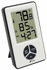 Wireless Home Weather Station w/ Digital Atomic Clock Indoor Thermometer