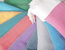 ZigZag Weave Turkish Towel Peshtemal Beach Fouta Towel Turkey Hammam Towel