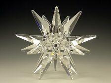 Swarovski #119430 Medium Star Candleholder Brand Nib Crystal Rare Free Shipping
