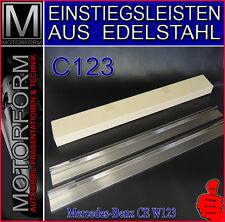 Mercedes 230C 230CE 280CE C123 W123 Einstiegsleisten Einstiegleisten Edelstahl